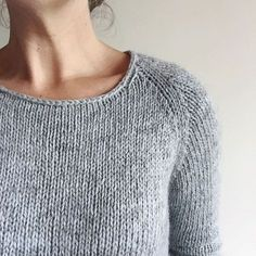 How to knit a simple neckline — The Craft Sessions