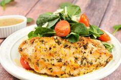 lemon chicken paillard with spinach and parmesan salad lemon chicken ...