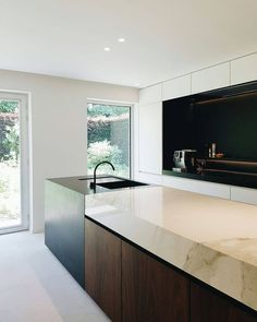 // BC House kitchen designed by Dieter Vander Velpen near Leuven, Belgium