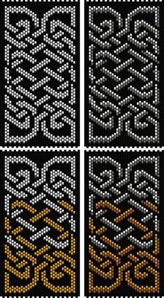 Celtic Knot 4 (peyote stitch) | Bead-Patterns
