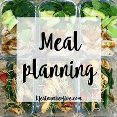 Meal planning | Life at Number Five
