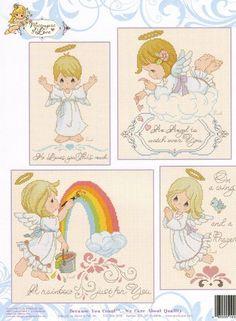 PM80 Good Night Messengers Of Love - Cross Stitch Pattern