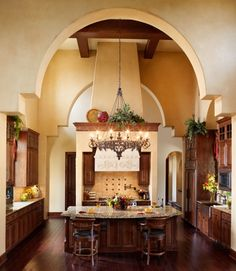Mediterranean style- won't fit in my house but like it