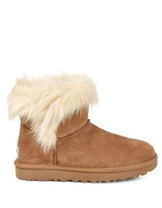 fdc1d957505 UGG Shearling Classic Milla Suede Booties