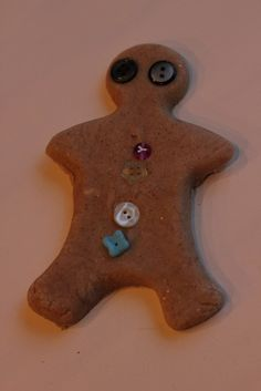 The Imagination Tree: Gingerbread Play Dough Recipe