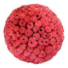 Red Rouge Large Scented Ball by Angel Aromatics | Available at  http://www.angelaromatics.com.au/scented-bowl-decorations/red-rouge-balsa-wood-balls