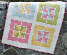PDF Baby Quilt Pattern ....Quick and Easy Fat by sweetjane on Etsy