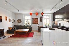 Дизайн квартиры-студии в скандинавском стиле, 86 кв.м.