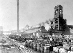 'Lever Brothers soap factory, Port Sunlight 1890'