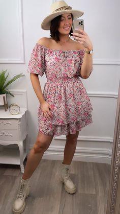 Pink mini dress, pink summer dress, bardot style, bardot dress, mini dress, virgo, boho style, pink Bag Icon, Bardot, Matilda, Online Boutiques, Skater Dress, No Frills, Fashion Online, Virgo, Summer Dresses