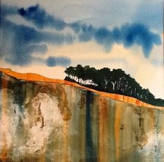 "Awesome ""abstract art paintings diy"" info is offered on our internet site. Have a look and you wont be sorry you did. Watercolor Landscape, Abstract Watercolor, Abstract Landscape, Landscape Paintings, Watercolor Paintings, Abstract Art, Art Paintings, Landscapes, Watercolours"