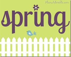 Spring is in the air {free and printables For your spring decor} Spring Art, Spring Crafts, Spring Time, Canvas Art Projects, Welcome Spring, Spring Activities, Subway Art, Mood, Printable Paper