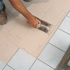 Photo: David Carmack | thisoldhouse.com | from How to Tile a Floor