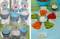 Under the Sea party food ideas