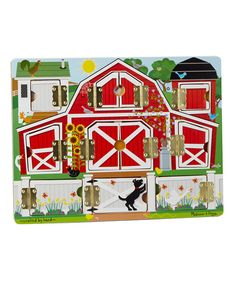 Take a look at the Magnetic Farm Hide & Seek Board on #zulily today!