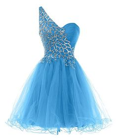 Homecoming dress,Sexy Homecoming Dress With Single Shoulder