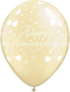 "Happy Anniversary Hearts Pearl Ivory 11"" Latex Balloons x 5 Anniversary http://www.amazon.com/dp/B007XGYVJU/ref=cm_sw_r_pi_dp_o8odvb0GZXN7F"