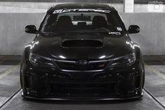 Black Subaru Impreza