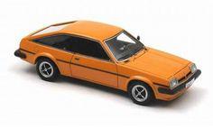 Neo Scale Models 1/43 scale model Opel Manta B CC SR in Orange Opel Manta, Diecast, Scale Models, Bed Covers