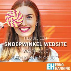 Is jouw website een snoepwinkel of biedt je een oplossing voor het probleem van je bezoeker?