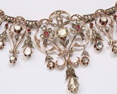 Tiara Mania: Crown Princess Mary of Denmark's Ruby & Diamond Necklace Tiara