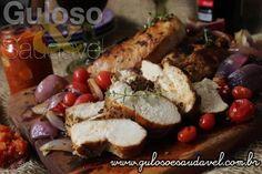 Que tal dar uma caprichada no #almoço com esta delícia de Peito de Frango Grelhado com Chutney de Tomate? Garanto que vão amar!   #Receita aqui: http://www.gulosoesaudavel.com.br/2016/11/18/peito-de-frango-grelhado-com-chutney-de-tomate/