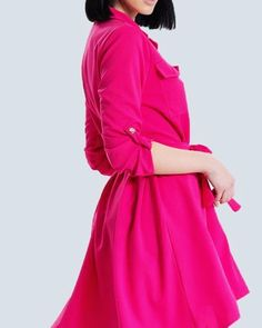 Magenta Dress Really Jumps Out at YouShop Now at www.capriccioshop.gr  #magenta #dresses #color #happy #spring #woman #girls #women #sexy #colorblock #ladies #editorial #follow #trend #fashionista #fashion #iloveit #mystyle #mylook #styleblogger #hot #newcollection #mood #pretty #instafashion #instamood