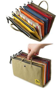 Ideas For Diy Bag Handbags Zipper Pouch Organizing Hair Accessories, Women Accessories, Sewing Accessories, Fashion Accessories, Craft Bags, Fabric Bags, Handmade Bags, Zipper Pouch, Purses And Bags