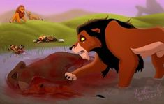 End of Scars peace by Irete Lion King Tree, Lion King 3, Lion King Story, Lion King Fan Art, Disney Lion King, Arte Disney, Disney Art, Lion King Funny, Anime Lion