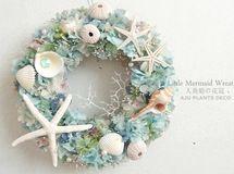 Little Mermaid Wreath 8~人魚姫の花冠~ 25cm