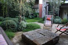 Jardim em Petersham, subúrbio de Sydney, estado de Nova Gales do Sul, Austrália.