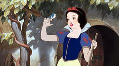 **Snow White and the Seven Dwarfs (1937) DISNEY - Directors: William Cottrell, David Hand  IMDB: Snow White, pursued by a jealous queen, hides with the Dwarfs; the queen feeds her a poison apple, but Prince Charming awakens her with a kiss.