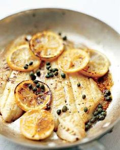 Pan-Seared Lemon Sole #myplate #protein