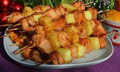Kurací kebab s ananásom v rúre | Báječné recepty