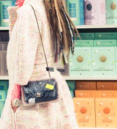 What, like you wouldn't plastic-wrap your CHANEL? http://www.thecoveteur.com/chanel-fall-winter-2014/