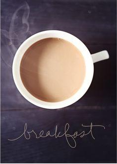 breakfast...sad but true =)