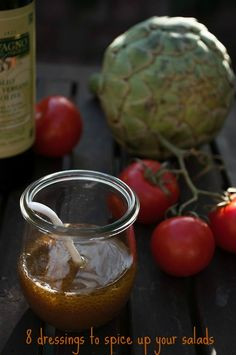 8 quick and easy salad dressing ideas