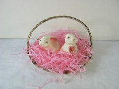 Vintage SILVERPLATE CANDY Basket Easter!  by LavenderGardenCottag