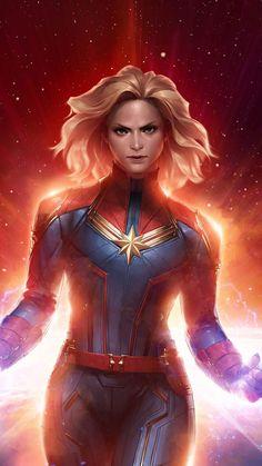 Captain Marvel iPhone Wallpaper - iPhone Wallpapers