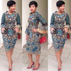 Simple Ankara Gown For Lovely Ladies - DeZango Fashion Zone