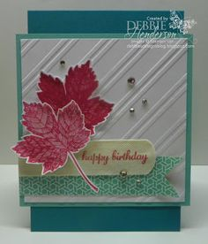 CCMC269 Create with Connie & Mary, Stampin' Up! Magnificent Maple by Debbie Henderson, Debbie's Designs.