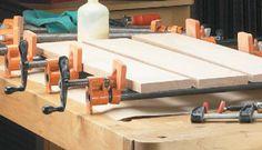 Ah! E se falando em madeira...: Grampos: aplicações e armazenamento
