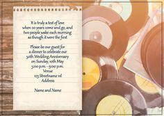 AI_015 Anniversary Invitations, Wedding Anniversary, Two People, Invite, Monkey, Wedding Anniversary Years, Playsuit, Birthday Invitations, Monkeys