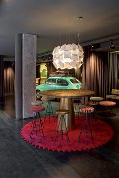 Hôtel à l'ambiance sixties à Barcelone