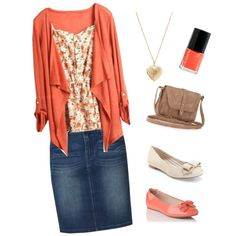 A fashion look from February 2013 featuring Levi's skirts, Saks Fifth Avenue flats and L.K.Bennett flats. Browse and shop related looks.