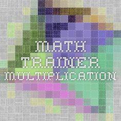 Math Trainer - Multiplication