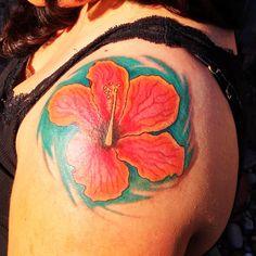 #hibiscus #tattoo #flower