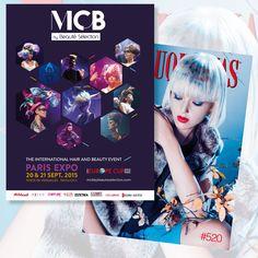 @mcbparis visto en/as seen #revistapeluquerias #PHS520 ¡Vamos a estar presentes con stand! ¡En septiembre en París!
