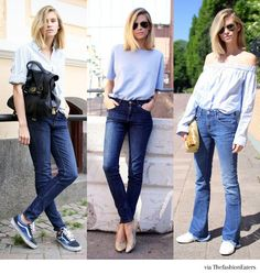 Image result for blue jeans fashion