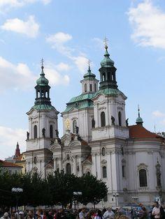 St. Nicholas' church (kostel sv. Mikulaše), Staroměstské nám., Prague #travel